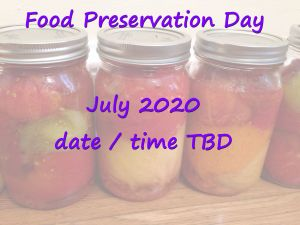 food preservation class